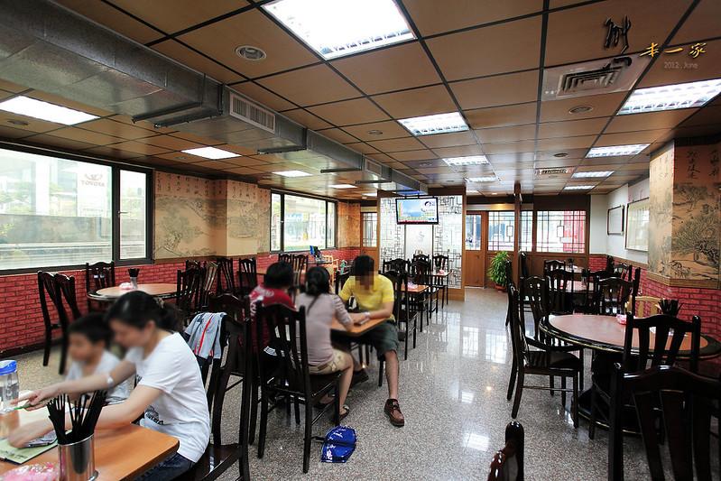 桃園機場捷運長庚醫院站美食餐廳|一畝園餐廳~北方刀削麵點熱炒