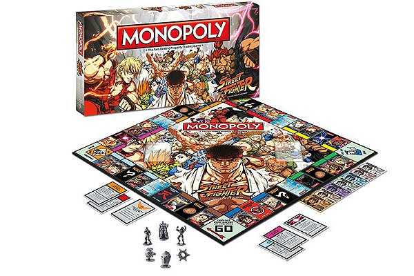 Monopoly: Street Fighter Collector's Edition Now Available