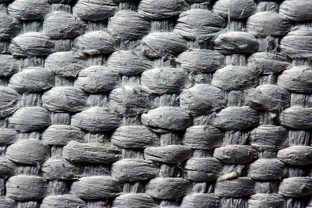 Close-up High-Percentage Asbestos Textile