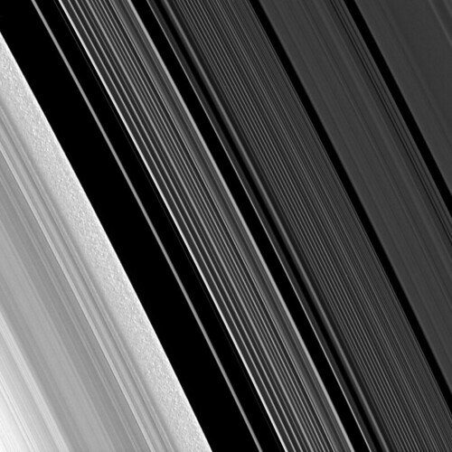 Scrambling Saturn's B-ring