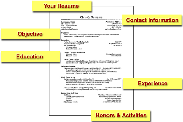 How to make a effective resume
