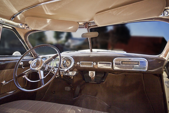 1951 Hudson Hornet Interior A Photo On Flickriver