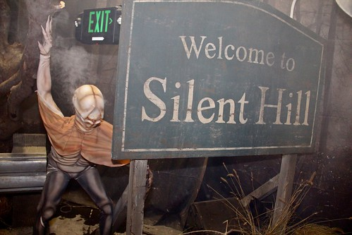 Silent Hill haunted house at Halloween Horror Nights 22