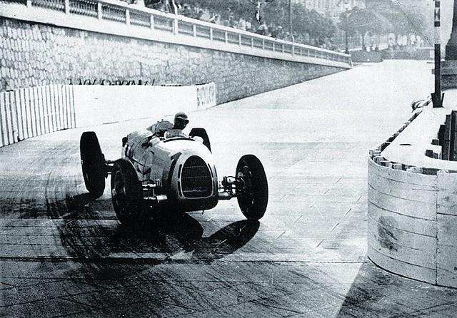 1937 Auto Union Typ C, Bernd Rosemeyer, Monaco GP practice