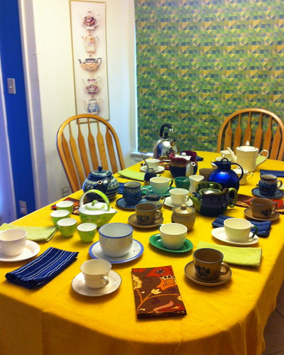 Mad Tea Party set-up