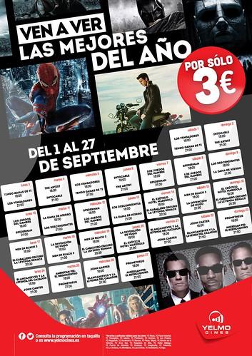 yelmo cineplex cine a 3€