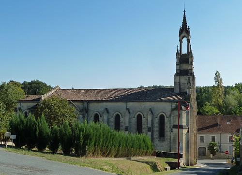 Saint Michel de Lapujade - L'Eglise de Notre Dame de Lorette 01