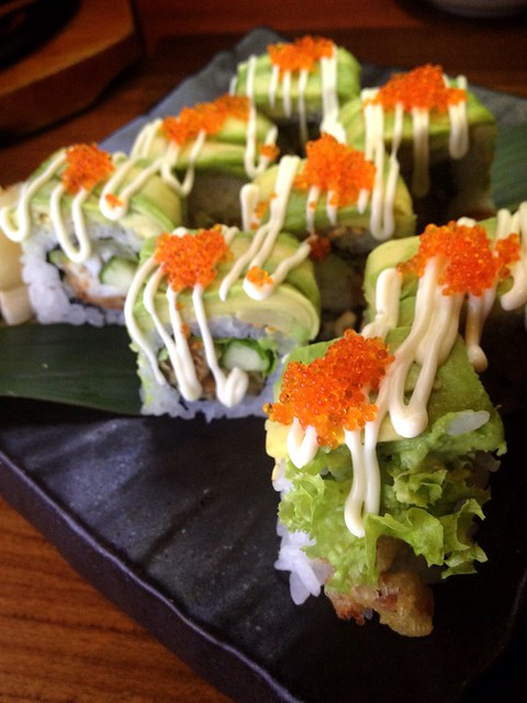 Avocado Soft Shell Crab Roll Sun Japanese Dining