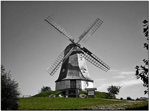 Holländer Windmühle in Jerichow