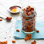Homemade Honey Roasted Peanuts