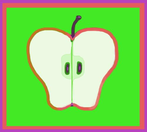 Half an Apple (It's Rosh Hoshanah) by randubnick