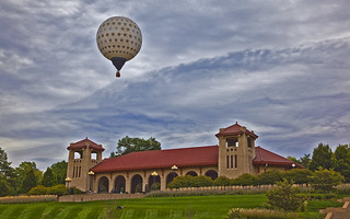 Pavillion and Golf Ball