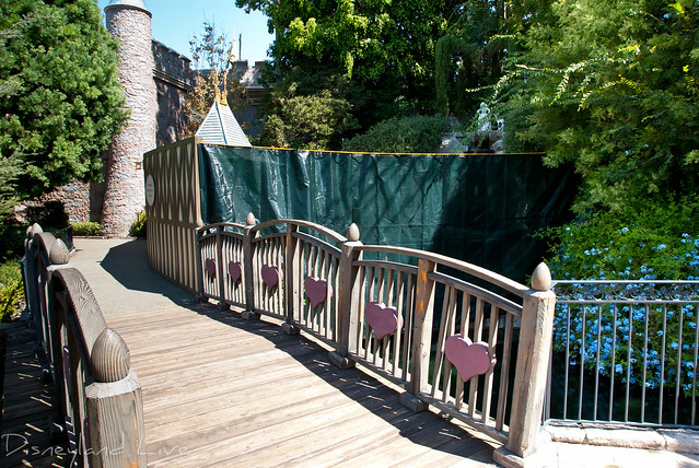 Disneyland Wishing Well Refurbishment