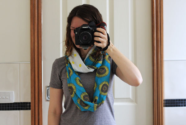 Sunflower Scarf