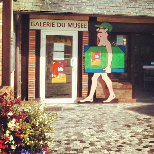 The gallery of trouville is funny by la casa a pois