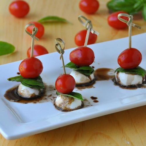 Mini Caprese Salads Recipes — Dishmaps
