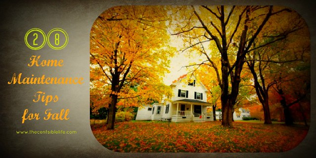 28a Home Maintenance tips for Fall