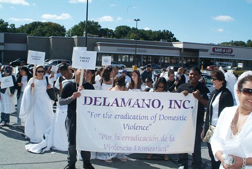 March 2009-Lawrence,MA - For the eradication of domestic violence