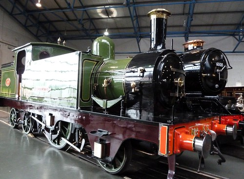 Historic Steam Engines at Railway Museum