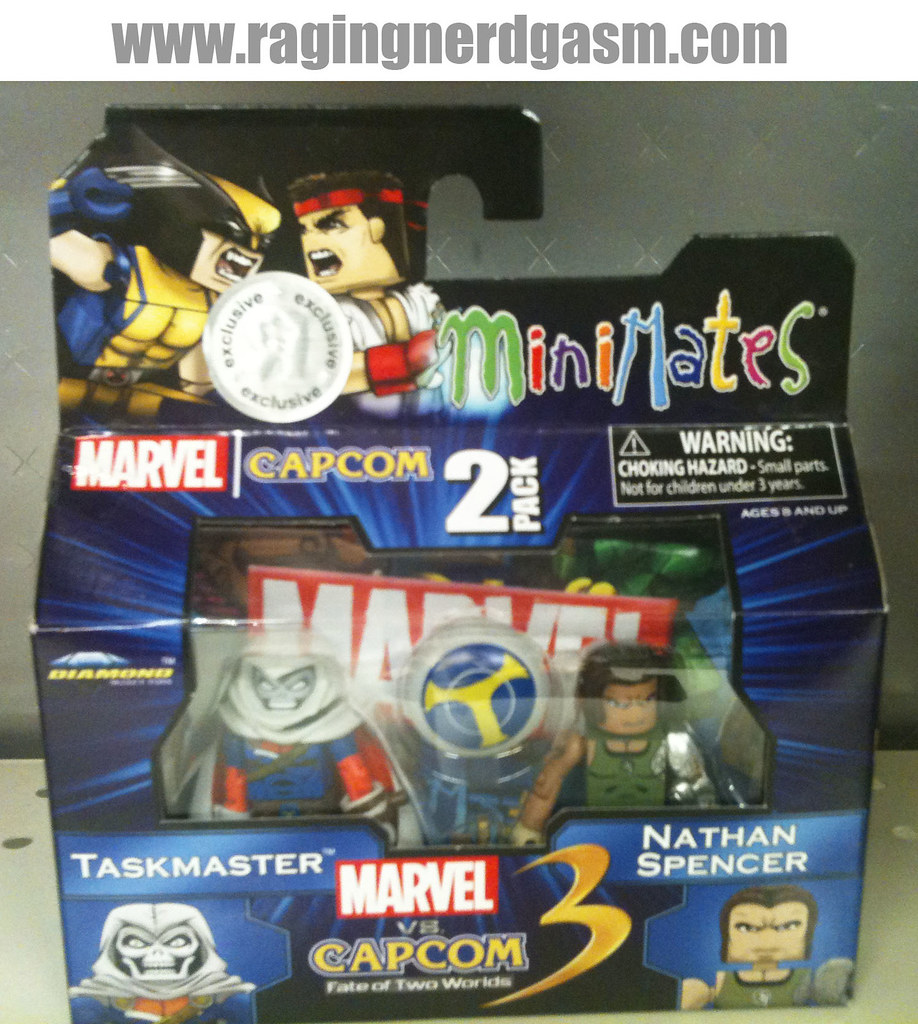 Minimates Marvel vs Capcom 3 001