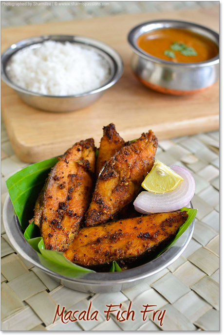 Masala Fish Fry Fish Recipes Sharmis Passions