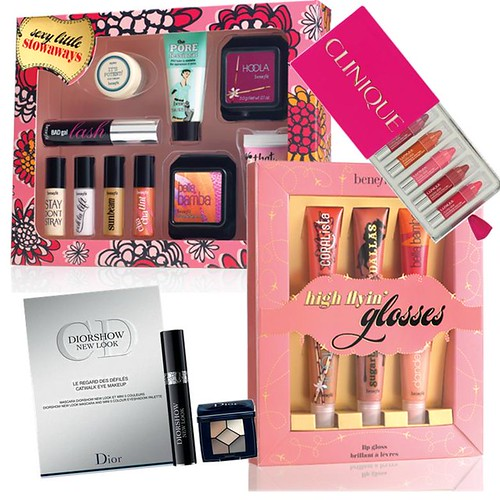 Benefit Sexy Little Stowaways Gift Set Boots Christmas