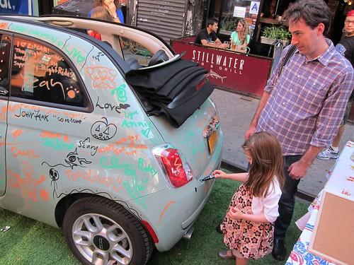 FAB! Festival 2012, Zip Car