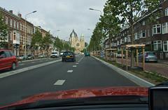 Maastricht - On repasse devant l'Eglise Saint Lambertuskerk