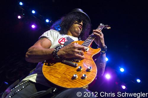 Slash - 09-22-12 - The Fillmore, Detroit, MI