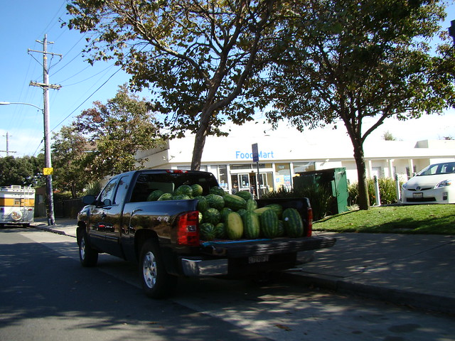 truck full o watermelons