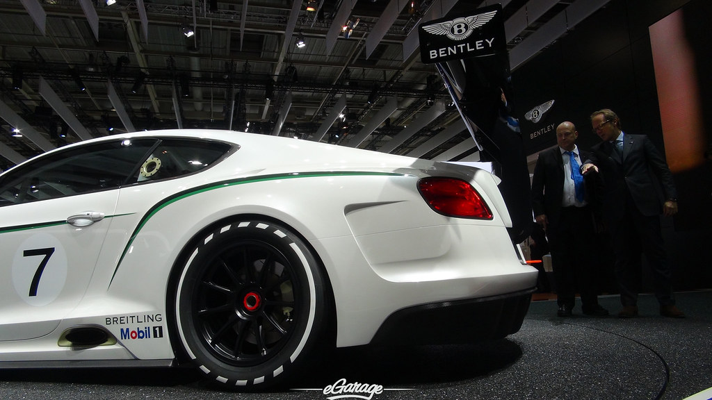 8030427921 705051cc80 b eGarage Paris Motor Show Bentley GT3