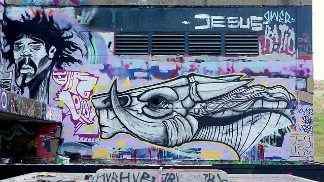 Oldenburg - ( Utkiek / street: Eidechsenstraße ) 36th picture / Graffiti, street art