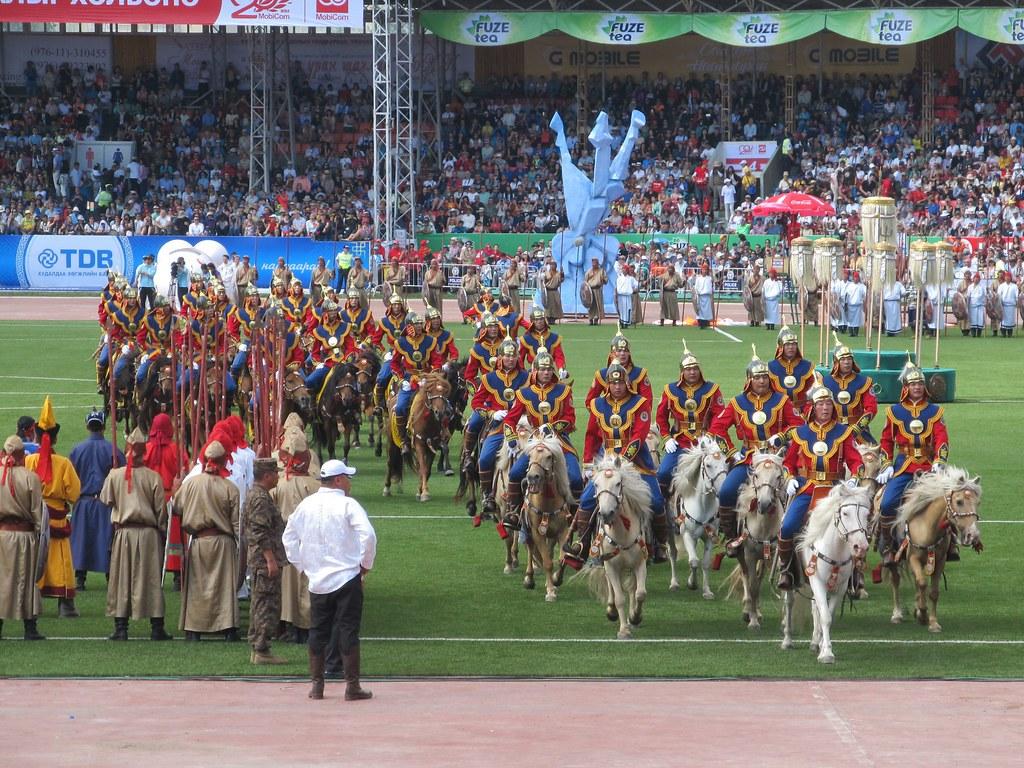 Mongolia's three manly sports - Alvinology