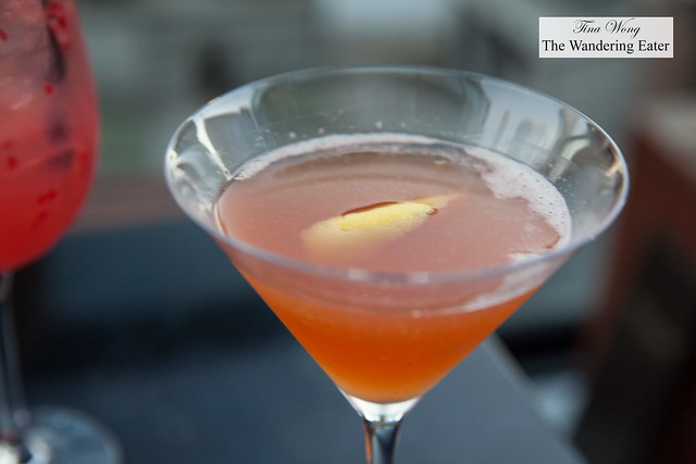 Archer Elixir - Bombay Sapphire East Gin, Earl Grey, Campari, lemon, St. Germain