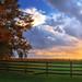 Tuesday's Sky by Bill DuPree