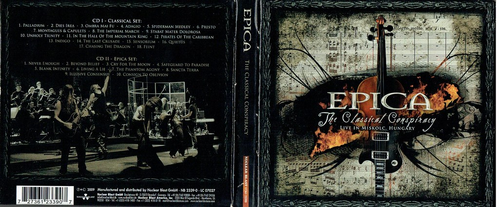 epica the classical conspiracy