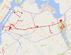 Sep 2014 - Sep 2016 Google Location History (Northern Queens)