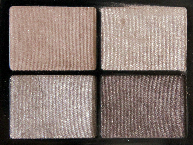 IsaDora soft suede eye shadow quartet