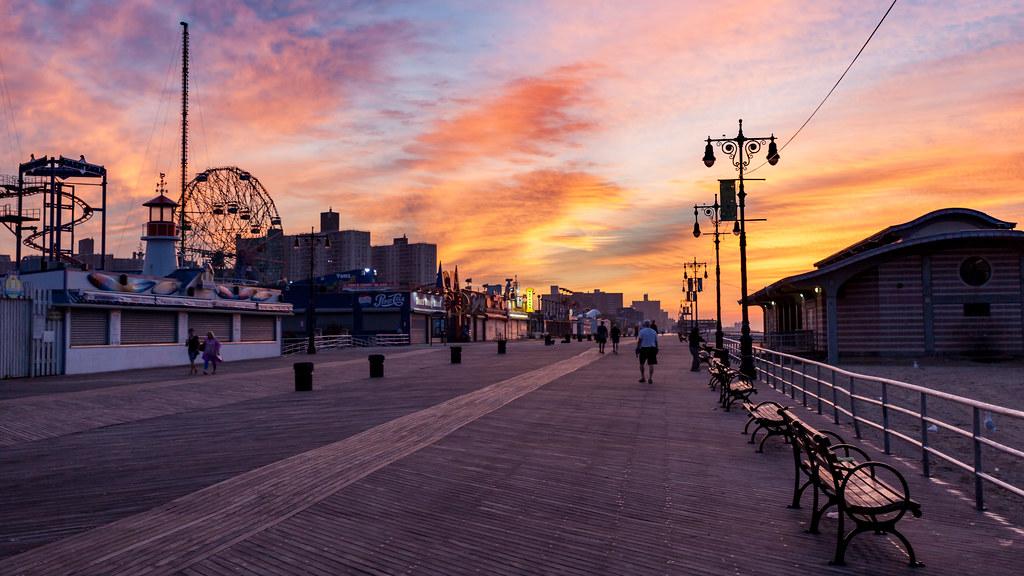 Coney Island Google Maps