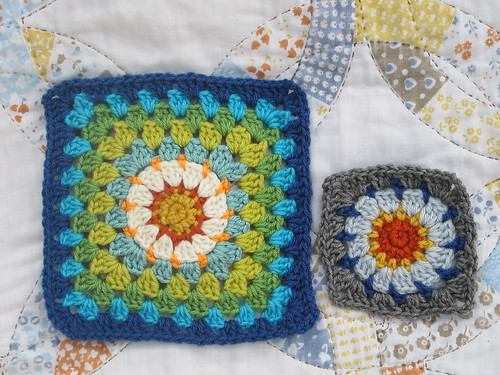 Week 6 - Sunburst Variation Grannies