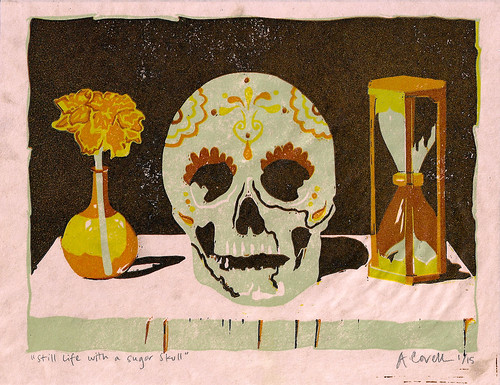 Still Life with Sugar Skull