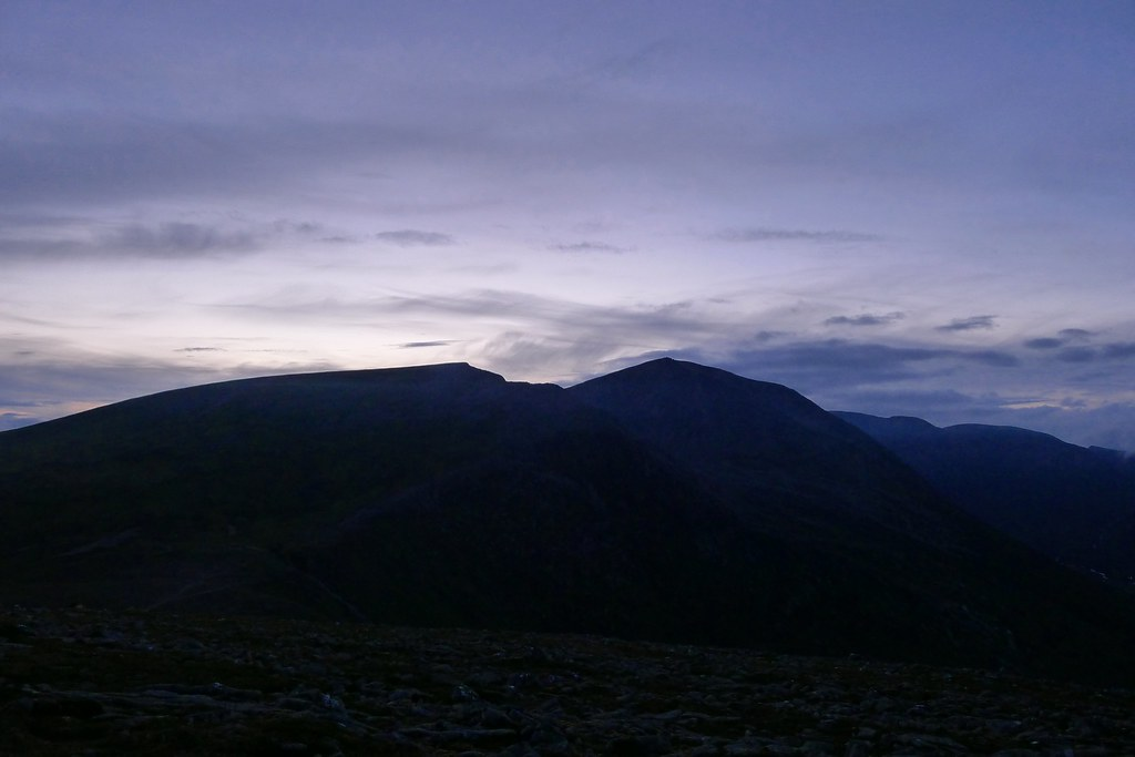 Cairn Toul at Dusk