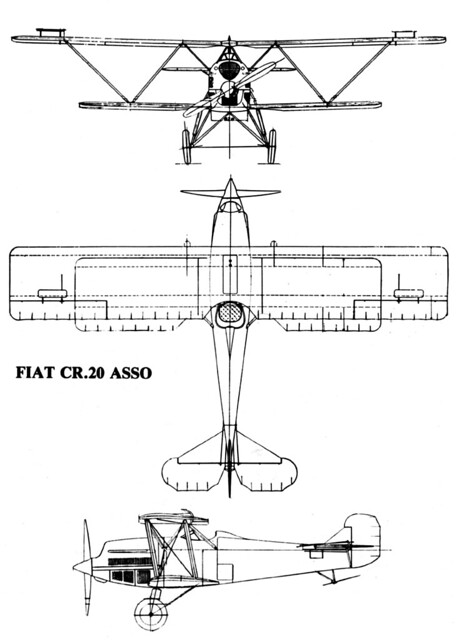 Fiat CR.20 Asso 3V