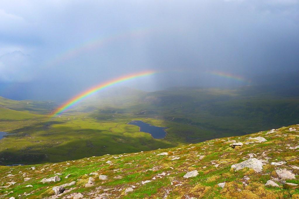 Rainbow over Glen Einich