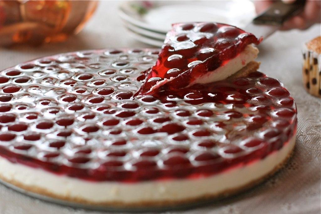 Пирог с красной смородины с фото