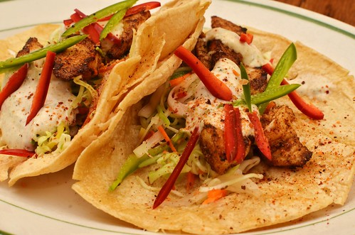Mmm... fish tacos