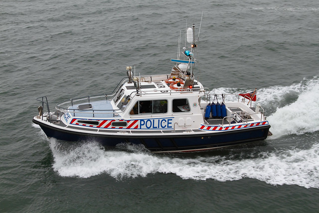 POLICE LAUNCH SIR JAMES SCOTT