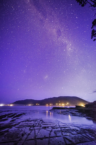 The Milkyway from EagleHawk neck
