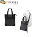 I'Praves Premium S black and brown fashion handbag