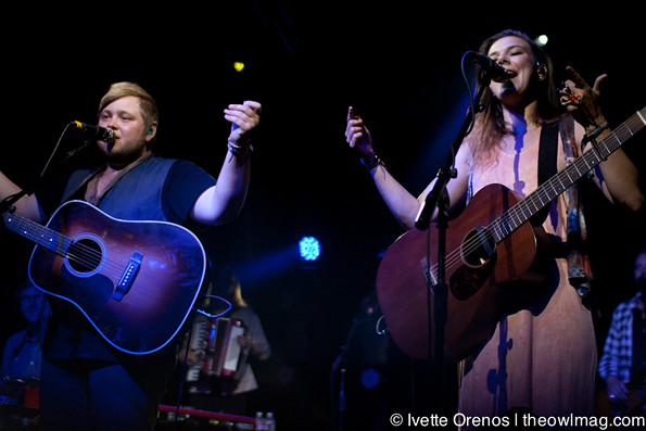 Of Monsters And Men with PAPA @ The Observatory, Santa Ana 8/8/12